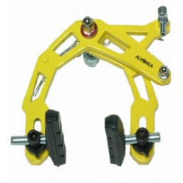 "FRENOS BMX ""ALLONGA"" AMARILLO"