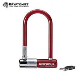 "CANDADO U ""KRYPTONITE"" DE 13, 82X178 ROJO"