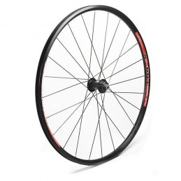"RUEDA DELANTERA 27.5"", FRENO DISCO CENTER LOCK, TUERCA, 24 H"
