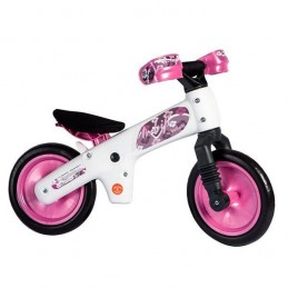 BICICLETA SIN PEDAL, CORREPASILLO, FIRST-BIKE, COLOR ROSA