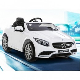 COCHE ELECTRICO 12V MERCEDES BENZ S63 COLOR NEGRO