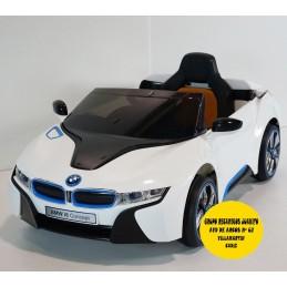 COCHE ELÉCTRICO BMW I8 SUV WHITE 12V