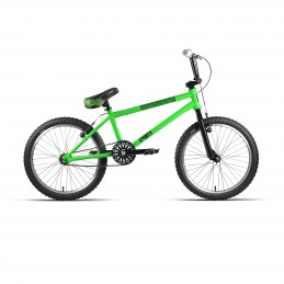 "BMX 20"" ACERO D/AHEAD ""DIRTY"" VERDE/NEGRO"