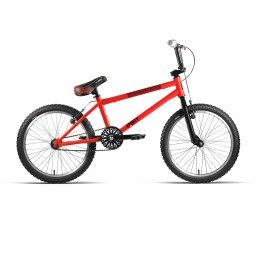 "BMX 20"" ACERO D/AHEAD ""DIRTY"" ROJO/NEGRO"