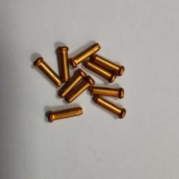 TERMINALES DE CABLE DE 2.4MM, color naranja
