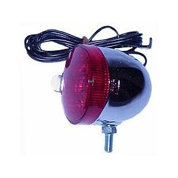 PILOTO TRASERO METALICO C/LAMP.6V-1A